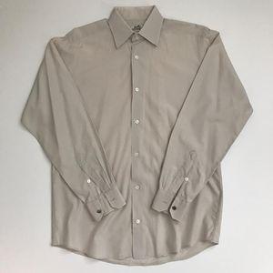 Mens Hermès Light Grey Dress Shirt